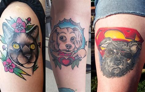 skin tight tattoo skin tight owners and their pets who are inseparable