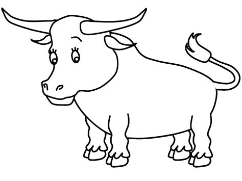 Coloring Pages Of Bulls ferdinand the bull coloring pages coloring home