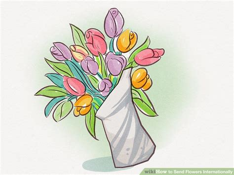 Send Flowers Internationally 3 ways to send flowers internationally wikihow