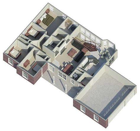 atrium floor plan atrium ranch with rooms to spare 5716ha architectural