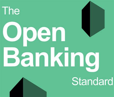 will banks be open the open banking standard financial data and technology