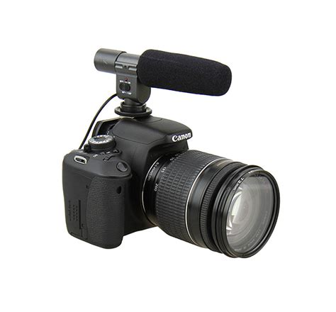Jjc Dslr Microphone Mic 1 microphone for dv or dslr with microphone hold and path jjc