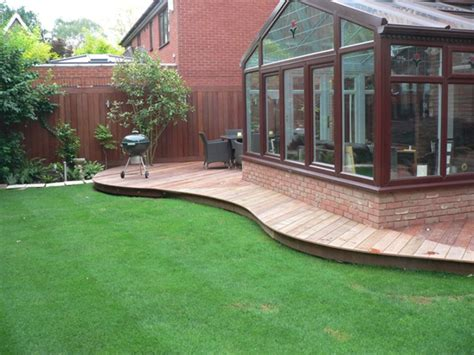Backyard Deck Ideas Ground Level Ground Level Decks Here S A Screened In Sunroof That L