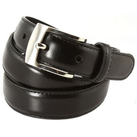 premium quality boys black leather belt cachet