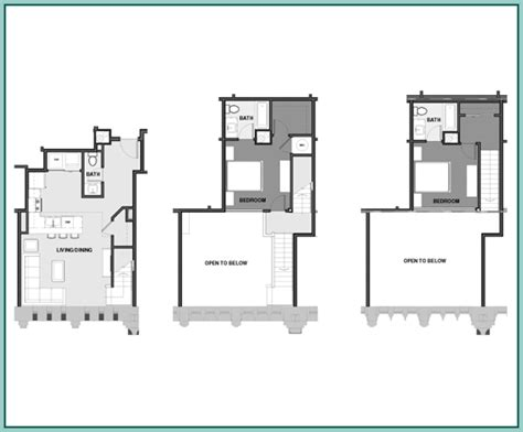 multi level floor plans new apartments in cleveland the athlon floor plans