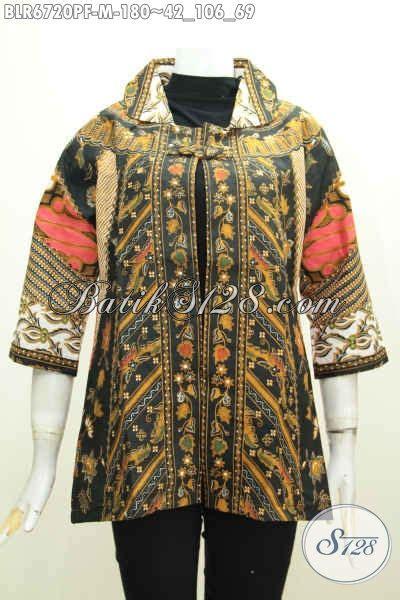 balero batik motif klasik busana batik modis berkelas