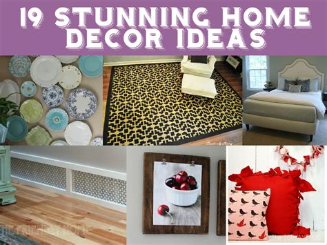 Home Decor Ideas Homemade | 19 stunning home decor ideas