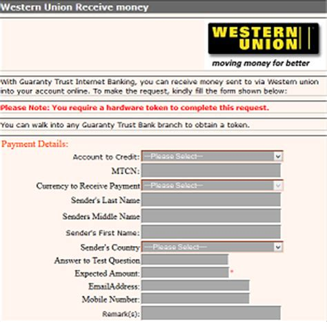 Forum Credit Union My Account How To Receive Western Union Money Transfer Directly Into Gtbank Account