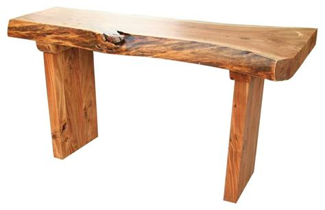 Wooden Console Table Western Wood Console Table