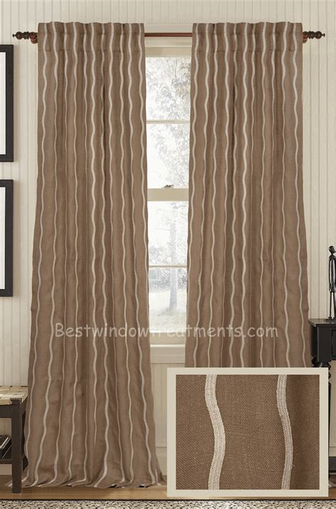 popular window treatments infinity jute curtain panel best window treatments