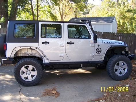 Jeep Without Fenders Anyone Running Without Fenders