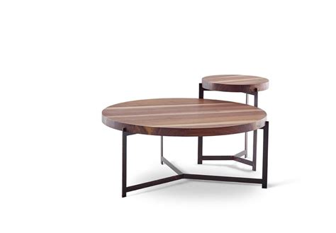 l and table combo kiaat coffee table and side table combo by hairpins