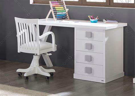 bureau enfant avec rangement bureau l 150 cm avec caisson 4 tiroirs 16 couleurs ksl