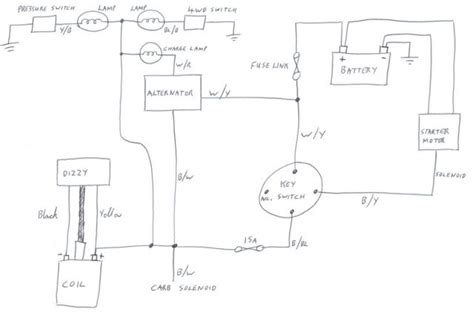 basic alternator wiring basic free engine image for user