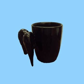Coffee Black High Quality black wholesale high quality wings mug cup for