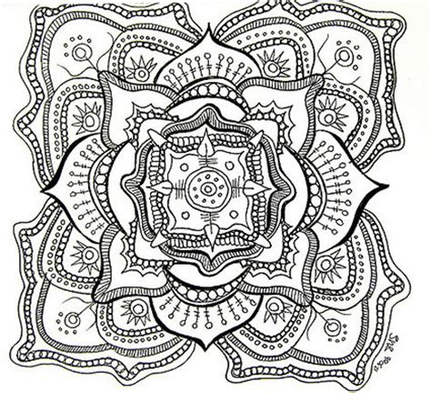 mandala coloring pages for adults selfcoloringpages com