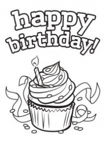 free coloring pages happy birthday cards to print and colour happy birthday cards to print and