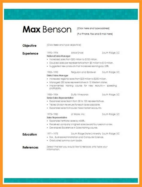 Skills Resume Template Microsoft Word by Best Resume Template Microsoft Word Bio Letter Format