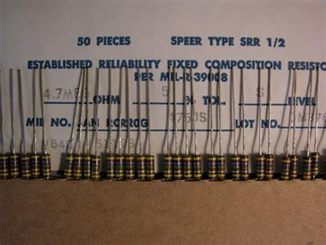 inductor information in gujarati carbon comp resistor color code 28 images 50 mil spec airco speer rcr20g475js 4 7m 5 1 2w