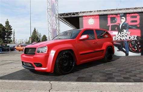 slammed jeep srt8 40 custom cars from the dub tourjeep grand