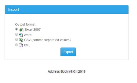 csv format for xerox public address book address book php download sourceforge net