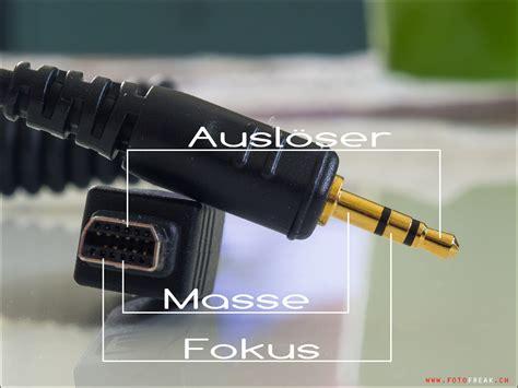 kamera für zuhause steuerkabel pinbelegung f 195 188 r nikon d800 und olympus om d