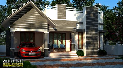 kerala home design 900 sq feet 900 square feet single floor contemporary home design
