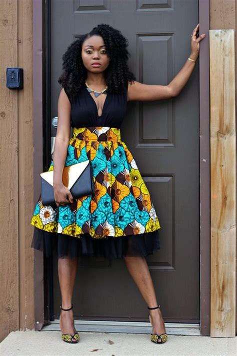pictures of skirt sown with ankara material ankara african print skirt watch the tutorial on youtube