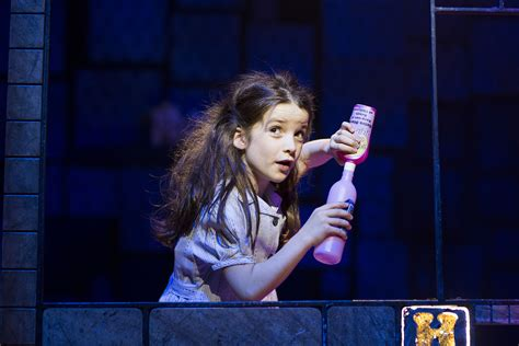 matilda s west end preview matilda the musical at the theatre