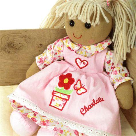 Handmade Ragdolls - personalised any name handmade rag doll