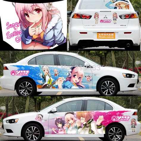 Car Sticker Anime by Diy 3d Car Whole Sticker Styling Decal Exterior