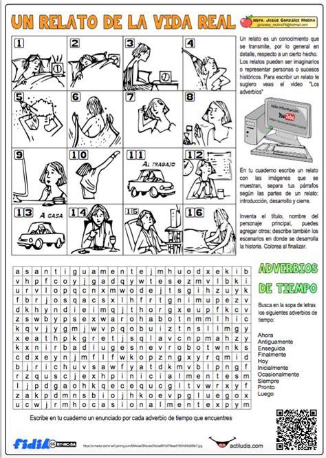 ejercicios tiempo y dinero de 4 de primaria santillana m 225 s de 25 ideas incre 237 bles sobre adverbios de tiempo en