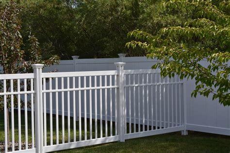 garden vinyl fence ideas garden loversiq