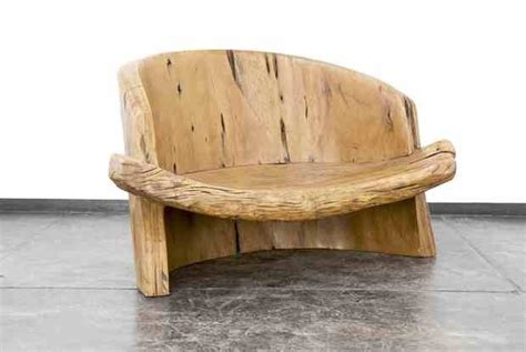Handmade Reclaimed Wood Furniture - gorgeous wooden bench from artist and craftsman