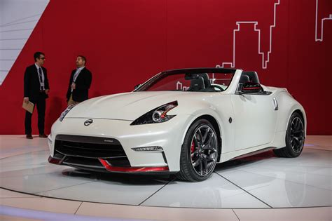 nissan 370z nismo nissan 370z nismo roadster concept makes its debut in chicago