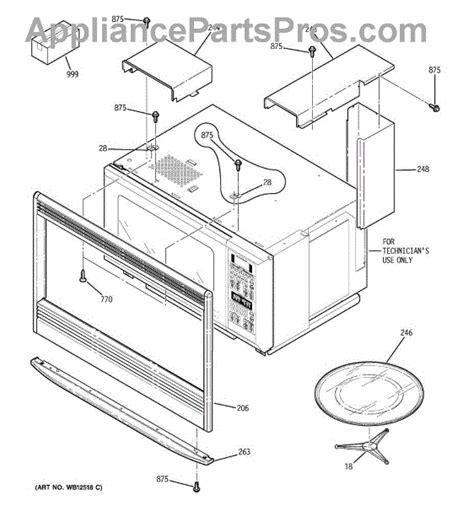 fan support number ge wb02t10121 support fan mwo appliancepartspros com