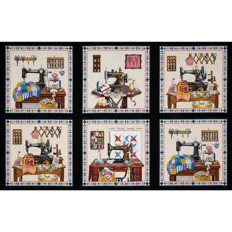 Patchwork Panels - stitch in time sewing patchwork panel black discount