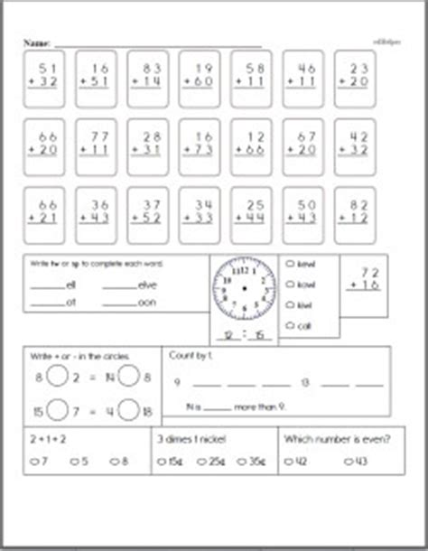 2 Digit Addition Worksheets Lessons And Printables