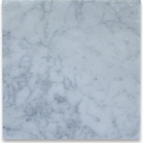 carrara white 12 x 12 tile honed marble from italy