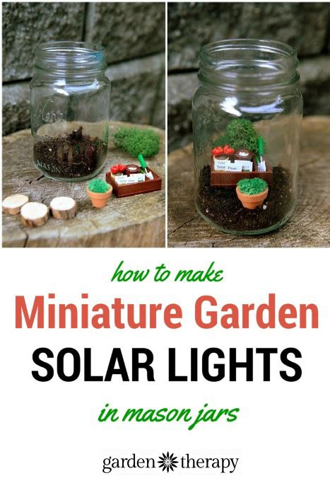 mini solar lights for crafts 20 jar crafts and gardening in jars
