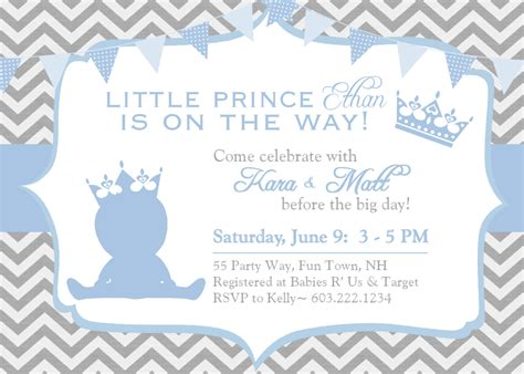 baby shower boy invitation templates free design baby boy shower invitations