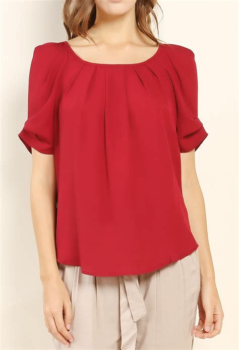 Ribbon Chiffon Top back ribbon chiffon top shop tops at papaya clothing