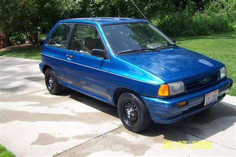 1991 ford festiva information and photos zombiedrive