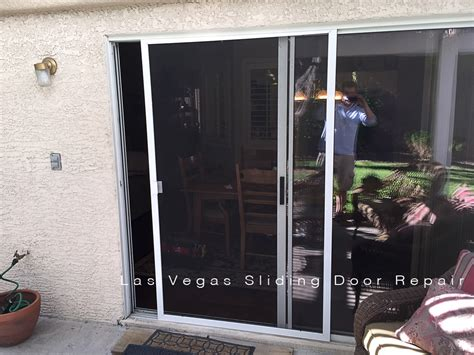 Patio Door Frame Repair Screen Doors Las Vegas Sliding Door Repair
