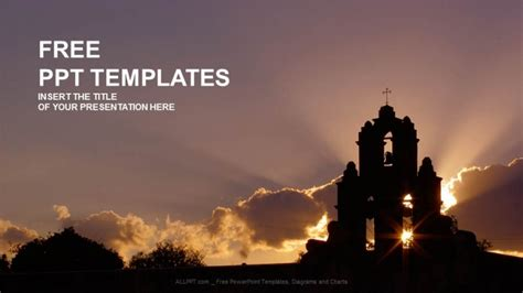 Church-Religion PPT Templates 16:9 Powerpoint Christian Templates Free
