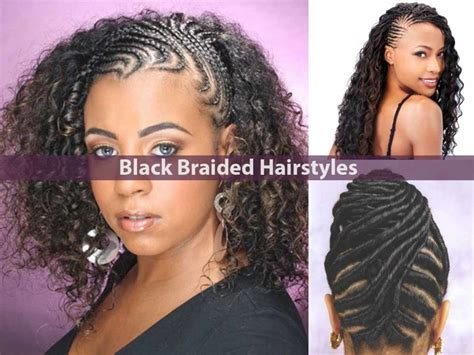black braid hairstyles 30 new ideas for black braided hairstyles 2018 hairstyle