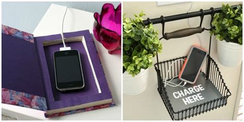 diy phone charging station 13 phone charging stations home diy projects