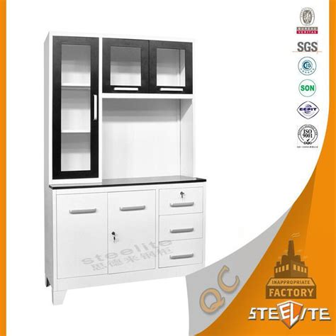 Kabinet Dapur Stainless Steel factory price powder coating stainless steel kitchen