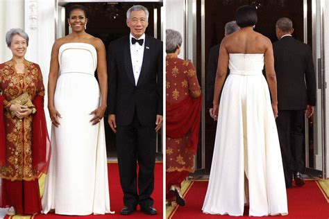 michelle obama dresses like a shooting star style of resistance