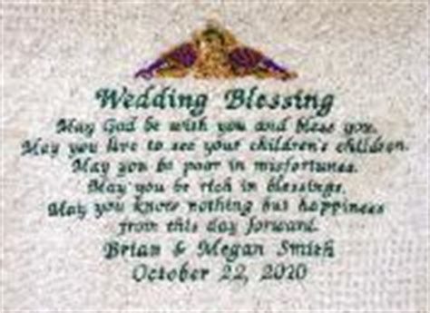 Wedding Blessing Scottish by Wedding Throw Throws Celticcrests